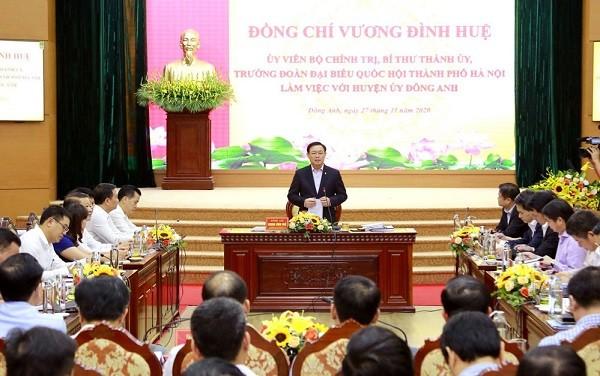 Đề xuất thành phố Hà Nội sớm đầu tư xây dựng cầu Tứ Liên, làm thêm 22 tuyến đường ảnh 1