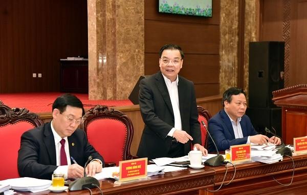 Hà Nội đề ra 9 nhiệm vụ để quyết phục hồi kinh tế, đặt mục tiêu tăng trưởng 7,5% năm 2021 ảnh 1