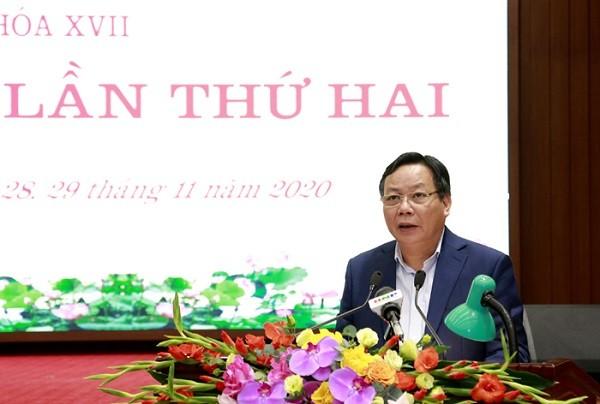 Hà Nội: Mỗi Thành ủy viên phải dành ít nhất 1/3 thời gian đi cơ sở nắm tình hình ảnh 2