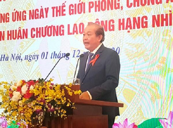 Phó Thủ tướng Trương Hòa Bình: Việt Nam tin tưởng sẽ chấm dứt đại dịch AIDS vào năm 2030 ảnh 1