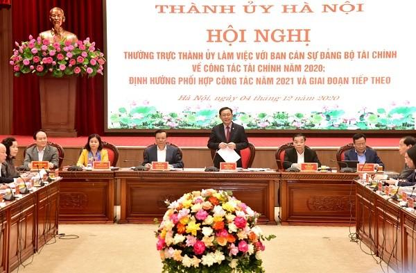 Hà Nội kiến nghị Bộ Tài chính gỡ vướng 31 cơ chế chính sách về thu-chi, thuế, phí... ảnh 3