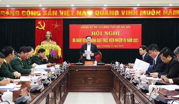 Bí thư Thành ủy Hà Nội giao nhiệm vụ đảm bảo an toàn cho nhân dân đón Tết ảnh 1