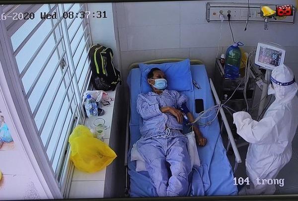 Một bệnh nhân Covid-19 mới phát hiện diễn biến rất nặng, nhiều bệnh lý nền ảnh 1