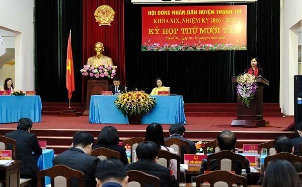 Huyện Thanh Trì sẽ lên quận vào năm 2023, chậm nhất là đầu 2024 ảnh 1