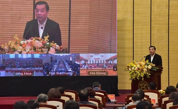 Hà Nội: 12.000 cán bộ chủ chốt học tập, quán triệt Nghị quyết Đại hội Đảng độ TP lần thứ XVII ảnh 2
