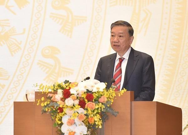 Bộ trưởng Tô Lâm: Năm 2021, ngành Công an sẽ kéo giảm thêm 5% số vụ phạm pháp hình sự ảnh 1