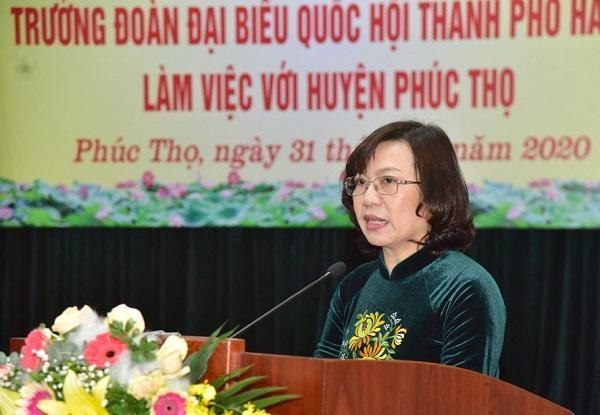 Huyện Phúc Thọ kiến nghị 14 vấn đề, Bí thư Thành ủy Vương Đình Huệ chỉ đạo ngay ảnh 1