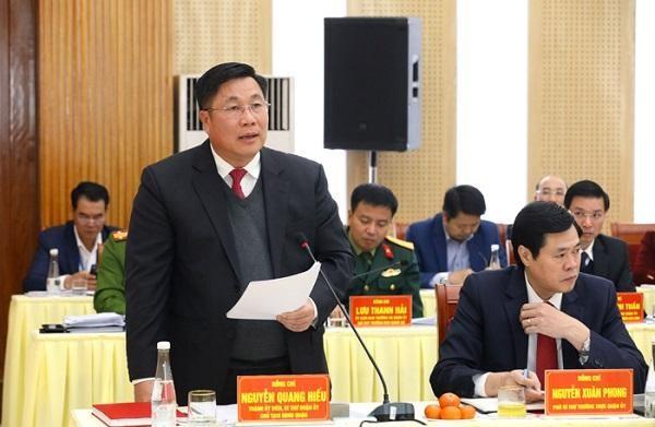 Quận Hoàng Mai kiến nghị sớm mở rộng đường Trương Định và 6 tuyến giao thông quan trọng ảnh 1