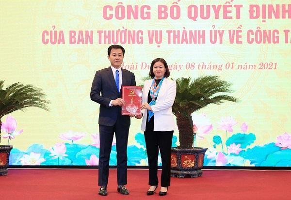 Phó Giám đốc Sở Nông nghiệp Nguyễn Xuân Đại làm Bí thư Huyện ủy Hoài Đức ảnh 1