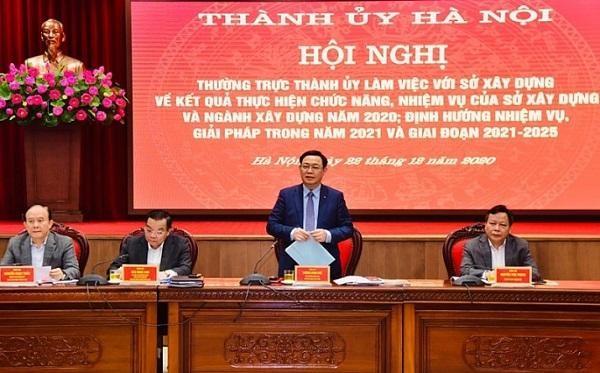 Thành ủy Hà Nội yêu cầu ưu tiên phát triển giao thông các huyện phía Nam và Tây Nam ảnh 1