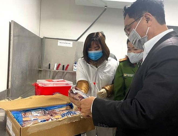 Hà Nội xét nghiệm SARS-COV-2 với 100 mẫu thực phẩm đông lạnh nhập khẩu ảnh 1