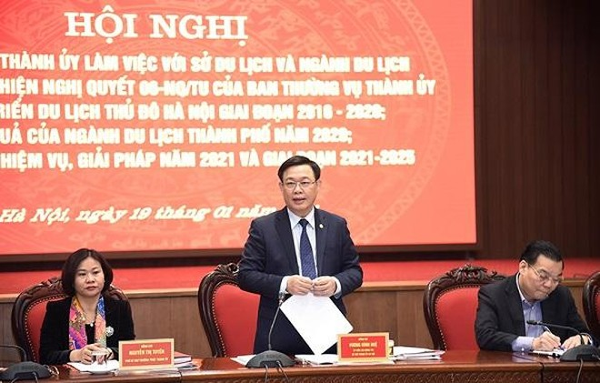 Bí thư Thành ủy Vương Đình Huệ: Cần lựa chọn đại sứ du lịch cho Hà Nội ảnh 1