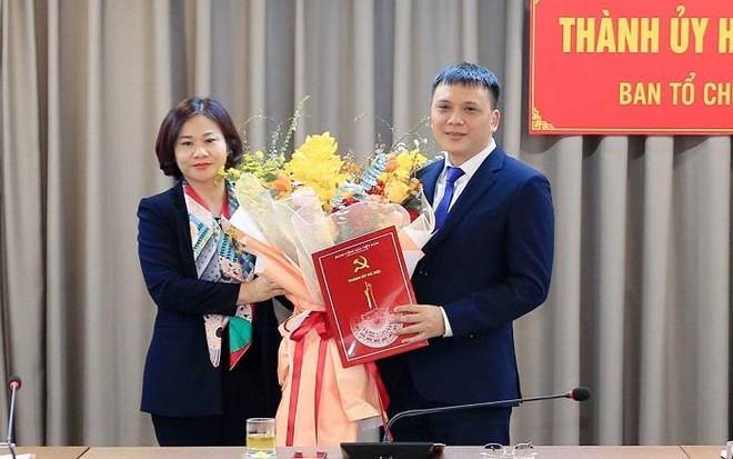 Ông Nguyễn Minh Long làm Phó Trưởng ban Tổ chức Thành ủy Hà Nội ảnh 1