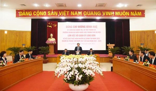 Quận Long Biên đề nghị đầu tư 24 dự án giao thông, đẩy nhanh tiến độ cầu Trần Hưng Đạo ảnh 1