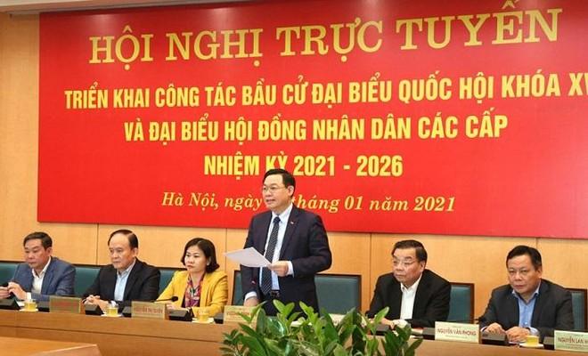 Hà Nội: Đề nghị không giới thiệu người sa sút phẩm chất đạo đức ứng cử ĐBQH, HĐND ảnh 1