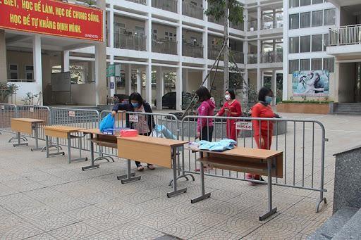 Tất cả thầy trò Tiểu học Xuân Phương đều âm tính 2 lần, có thể về nhà trước Tết ảnh 1