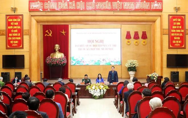 Cử tri Hà Nội chúc Tổng Bí thư Nguyễn Phú Trọng có nhiều sức khỏe để cống hiến cho đất nước ảnh 1
