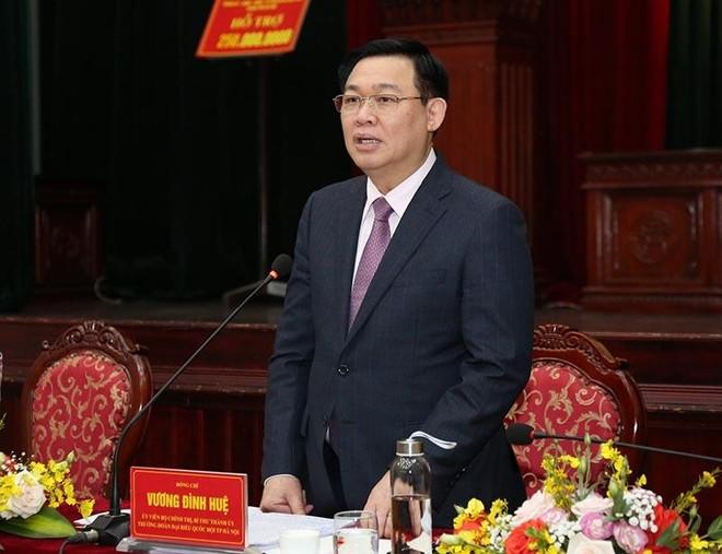 """Bí thư Thành ủy Hà Nội: Gia Lâm phải lên quận """"một cách đàng hoàng"""", không được nợ tiêu chí ảnh 2"""