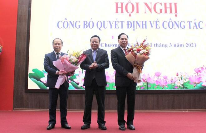 Phó Giám đốc Sở Nội vụ Nguyễn Đình Hoa được giới thiệu bầu làm Chủ tịch huyện Chương Mỹ ảnh 1