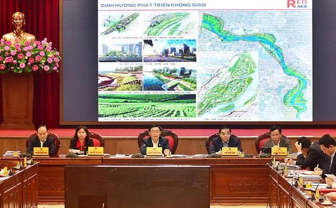 Hà Nội tiến thêm bước dài, có thể ban hành Quy hoạch phân khu sông Hồng vào tháng 6 ảnh 1