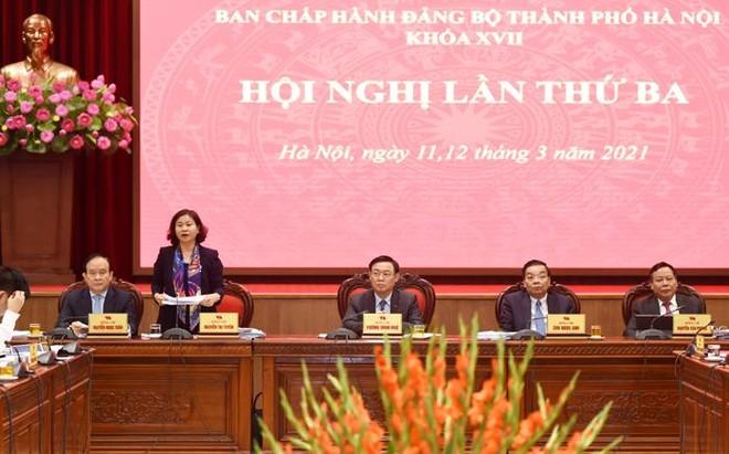 Bí thư Thành ủy Hà Nội: 10 chương trình công tác của Thành ủy có tầm nhìn chiến lược lâu dài ảnh 1
