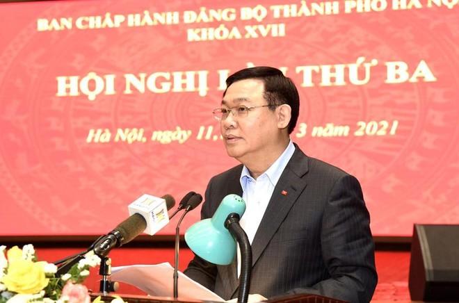 Bí thư Thành ủy Hà Nội: 10 chương trình công tác của Thành ủy có tầm nhìn chiến lược lâu dài ảnh 2
