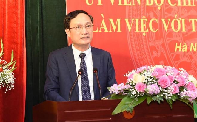 Trường cán bộ Lê Hồng Phong đề xuất cho xét tuyển lao động đã làm hợp đồng 17 năm ảnh 1