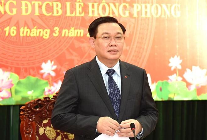 Bí thư Thành ủy Hà Nội Vương Đình Huệ: Văn hóa, thương hiệu chính là sức mạnh mềm ảnh 1
