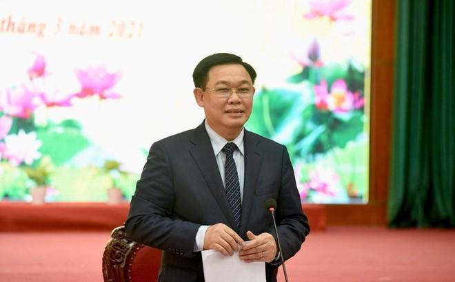 """Bí thư Thành ủy Hà Nội: Thị xã Sơn Tây phải có khát vọng làm giàu, không thể cứ """"bình bình"""" ảnh 1"""