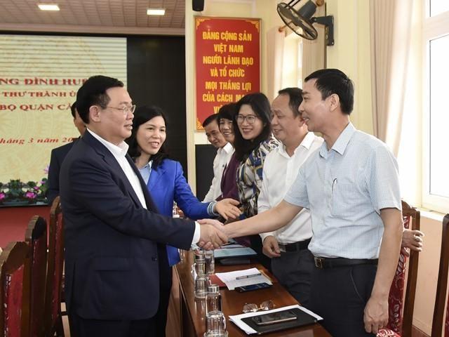 Bí thư Thành ủy Hà Nội: Quận Cầu Giấy sẽ đứng ở top đầu thành phố ảnh 1