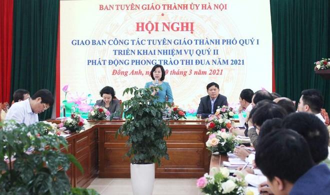 Hà Nội: Đẩy mạnh ứng dụng công nghệ thông tin vào công tác tuyên giáo, tuyên truyền bầu cử ảnh 1