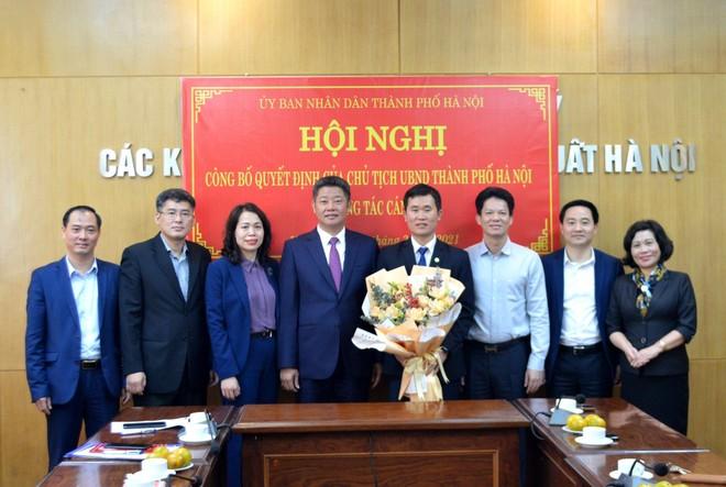 Ban Quản lý các Khu công nghiệp và chế xuất Hà Nội có thêm lãnh đạo ảnh 1