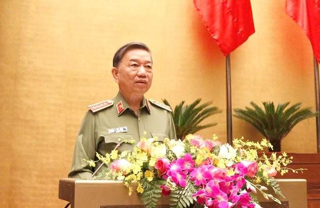 Đại tướng Tô Lâm phân tích những tư duy, nhận thức mới về bảo vệ an ninh quốc gia ảnh 1