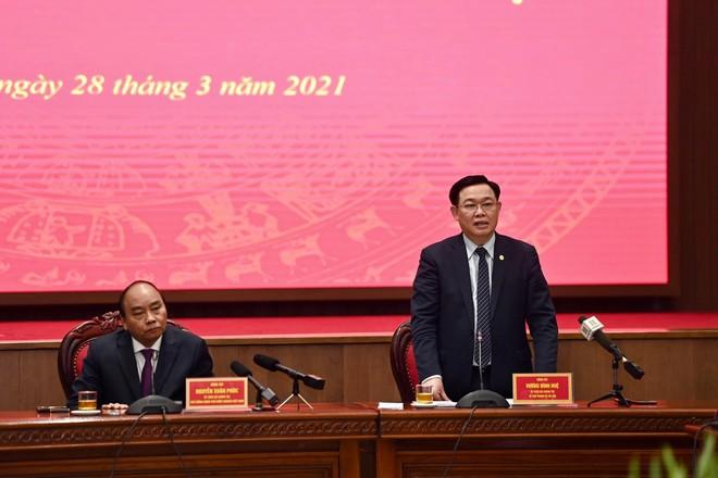 """Thủ tướng Nguyễn Xuân Phúc: Câu """"Hà Nội không vội được đâu"""" không còn được nhắc tới nữa ảnh 3"""