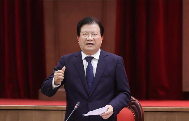 Phó Thủ tướng: Quy hoạch Hà Nội phải lấy trục sông Hồng làm điểm nhấn, phát triển mạnh phía Bắc ảnh 1
