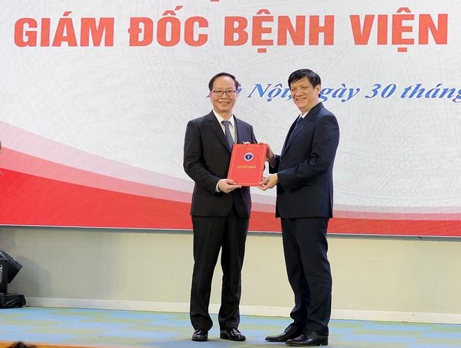 PGS.TS Trần Minh Điển làm Giám đốc Bệnh viện Nhi Trung ương ảnh 1