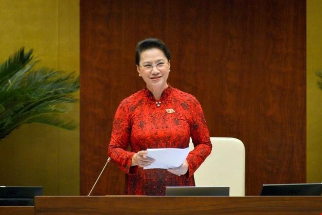 Bỏ phiếu kín miễn nhiệm Chủ tịch Quốc hội Nguyễn Thị Kim Ngân ảnh 1
