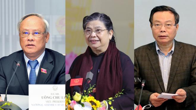 Miễn nhiệm Phó Chủ tịch Quốc hội với bà Tòng Thị Phóng, ông Uông Chu Lưu và ông Phùng Quốc Hiển ảnh 1