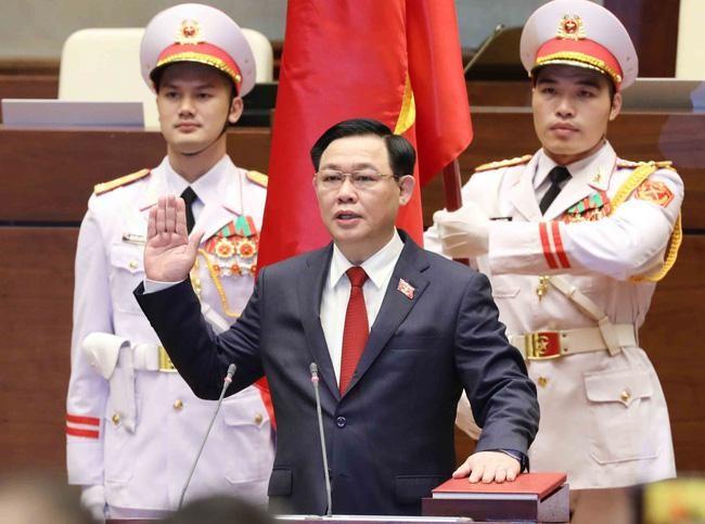 Tân Chủ tịch Quốc hội Vương Đình Huệ tuyên thệ nhậm chức: Cam kết nâng cao vị thế của Quốc hội ảnh 2