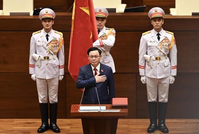 Tân Chủ tịch Quốc hội Vương Đình Huệ tuyên thệ nhậm chức: Cam kết nâng cao vị thế của Quốc hội ảnh 1
