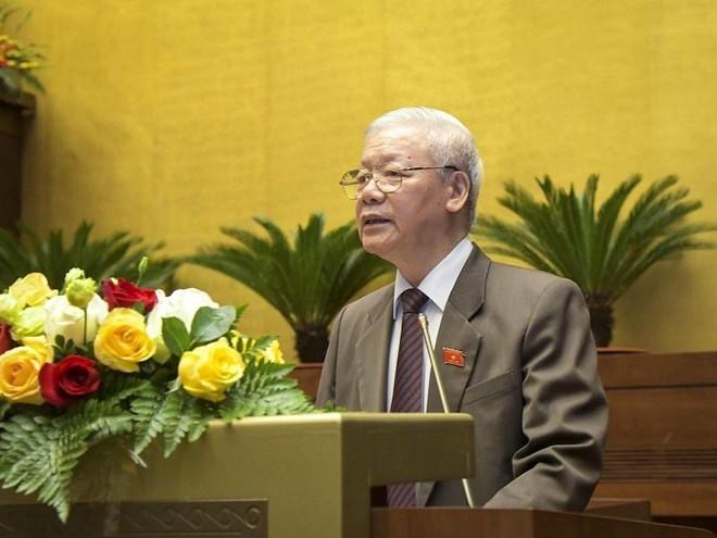 Trình Quốc hội miễn nhiệm Chủ tịch nước Nguyễn Phú Trọng ảnh 1