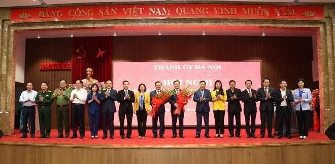 Tân Bí thư Thành ủy Hà Nội Đinh Tiến Dũng: Xin hứa sẽ nỗ lực hết mình, nêu cao tiên phong, gương mẫu ảnh 1