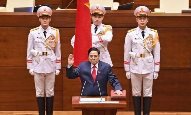 Tân Thủ tướng Chính phủ Phạm Minh Chính tuyên thệ nhậm chức ảnh 1