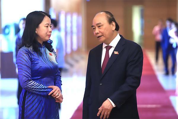 Bà Võ Thị Ánh Xuân được giới thiệu để Quốc hội bầu làm Phó Chủ tịch nước ảnh 1