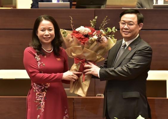 Bà Võ Thị Ánh Xuân trở thành tân Phó Chủ tịch nước CHXHCN Việt Nam ảnh 1