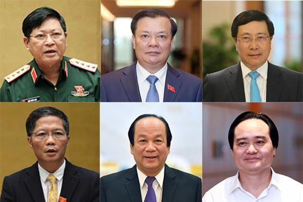 Trình miễn nhiệm Phó Thủ tướng Trịnh Đình Dũng và 12 Bộ trưởng, trưởng ngành ảnh 1