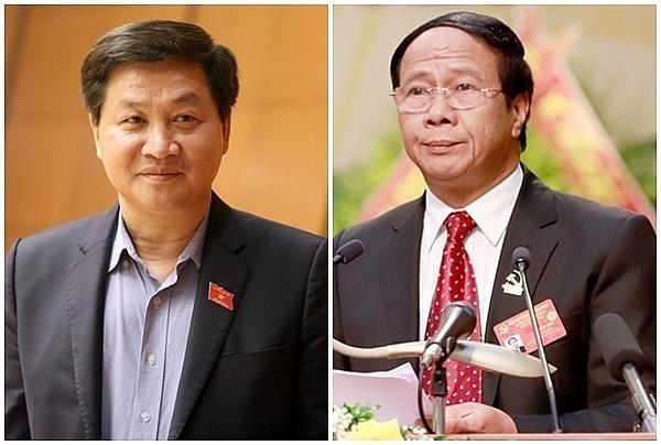 Các ông Lê Minh Khái, Lê Văn Thành được giới thiệu để bầu làm Phó Thủ tướng cùng 12 Bộ trưởng mới ảnh 1