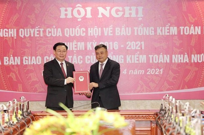 Chủ tịch Quốc hội giao 4 nhiệm vụ cho tân Tổng Kiểm toán nhà nước Trần Sỹ Thanh ảnh 1