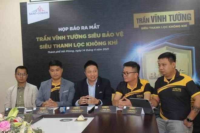 Saint-Gobain Việt Nam ra mắt sản phẩm có thể thanh lọc không khí đến 85% ảnh 1