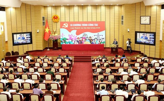 Bí thư Thành ủy Hà Nội Đinh Tiến Dũng: Trước hết, người đứng đầu phải nêu gương ảnh 1